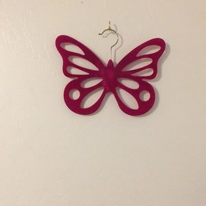 Other - 💲FINAL PRICE 💲 Accessory Hanger Butterfly Design